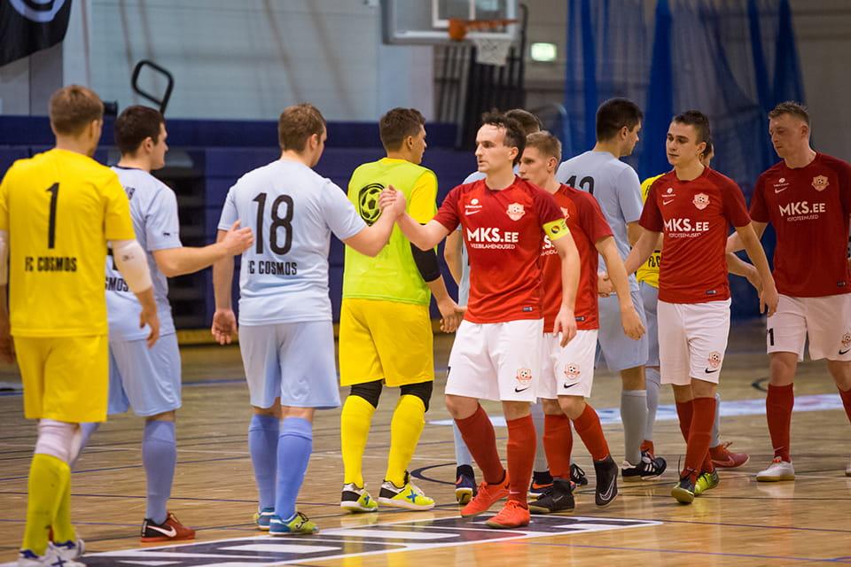Tallinna FC Cosmos - Tartu Maksimum
